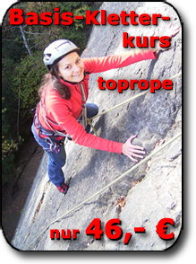 Basis Kletterkurs toprope