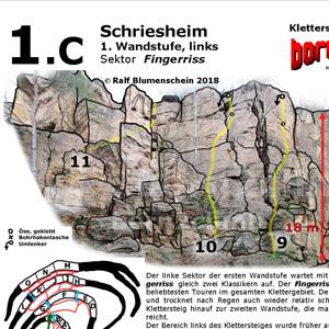 Kletterführer Schriesheim Topo zum download