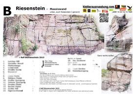 Kletterführer download topo riesenstein