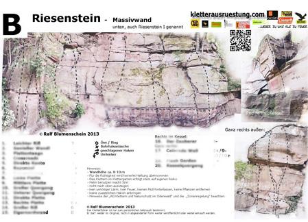 Riesenstein Kletterführer zum download