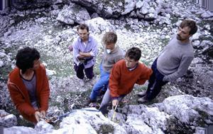 Kletterkurs im Jahre 1988