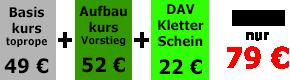 Anfänger Kletterkurse in München Thalkirchen