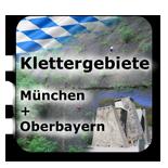 Klettergebiete Kletterhallen München Bad Tölz Oberbayern