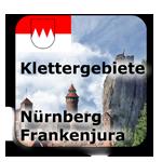 Klettergebiete Kletterhallen Nürnberg Frankenjura Fränkische Schweiz