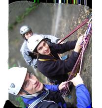 Aufbau Kletterkurs Alpin
