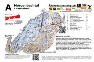 Kletterführer download topo morgenbachtal
