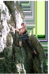Aufbau Kletterkurs Fels in Mannheim Schriesheim Heidelberg