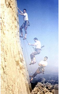 Kletterkurs Sturztraining Kurs Heidelberg München Fels